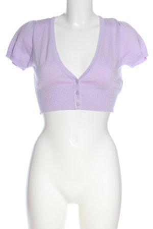 Orsay Boléro en tricot violet style décontracté