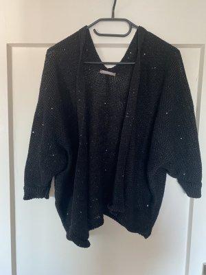 Orsay Cardigan en crochet noir-gris