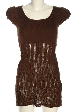 Orsay Strickkleid braun Casual-Look