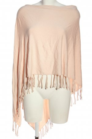 Orsay Knitted Poncho pink casual look