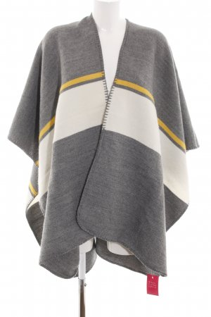 Orsay Strickponcho Streifenmuster Casual-Look