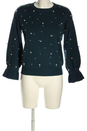 Orsay Strickpullover khaki-wollweiß Elegant