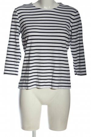 Orsay Knitted Sweater white-black striped pattern casual look