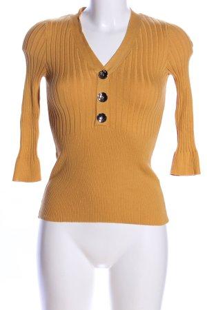 Orsay Strickpullover blassgelb Casual-Look