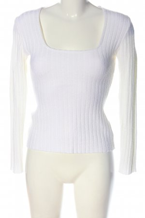 Orsay Knitted Sweater white casual look