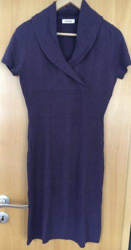 Orsay Długi sweter bez rękawów ciemny fiolet