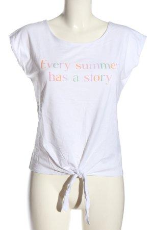 Orsay Strickshirt Schriftzug gedruckt Casual-Look