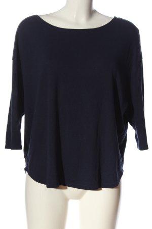 Orsay Strickshirt blau Casual-Look