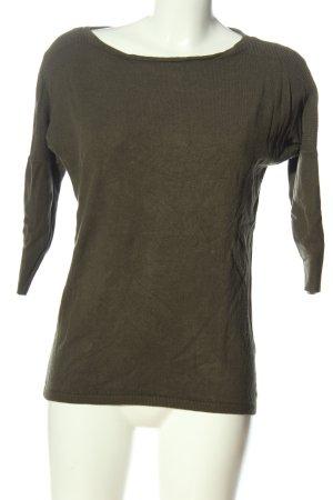 Orsay Koszulka z dzianiny khaki W stylu casual