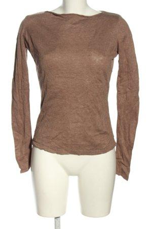 Orsay Strickshirt braun Casual-Look
