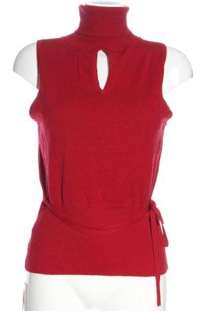 Orsay Gebreide top rood casual uitstraling
