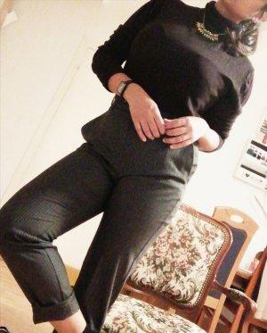 Orsay Pantalón de lino color plata-gris claro