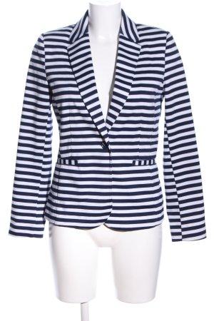 Orsay Sweat Blazer white-blue striped pattern casual look