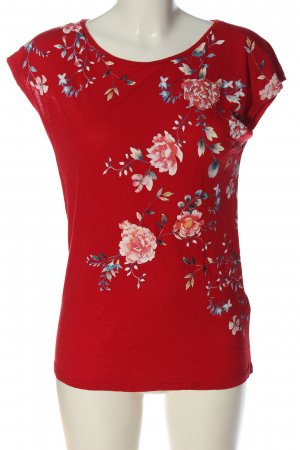 Orsay T-Shirt red flower pattern casual look