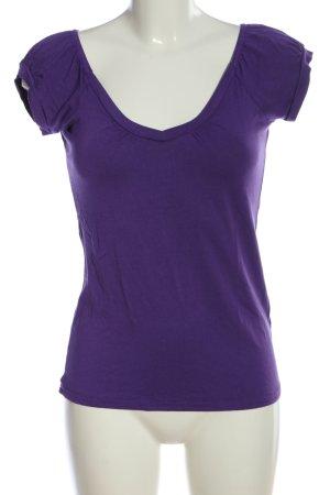 Orsay T-Shirt lila Casual-Look