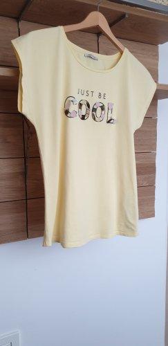 Orsay T-shirt giallo chiaro Cotone