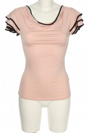 Orsay T-Shirt pink-schwarz Casual-Look