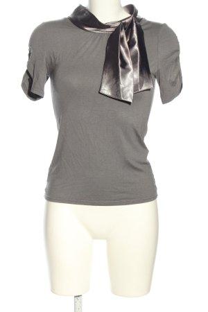 Orsay T-Shirt hellgrau-silberfarben meliert Casual-Look
