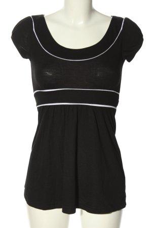 Orsay T-Shirt schwarz-weiß Casual-Look