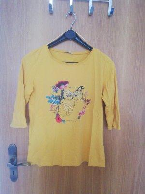 Orsay T-Shirt mit Eule gelb