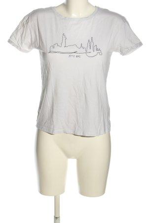 Orsay T-Shirt weiß Motivdruck Casual-Look