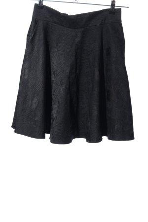 Orsay Circle Skirt black allover print elegant