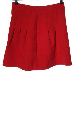 Orsay Falda circular rojo look casual