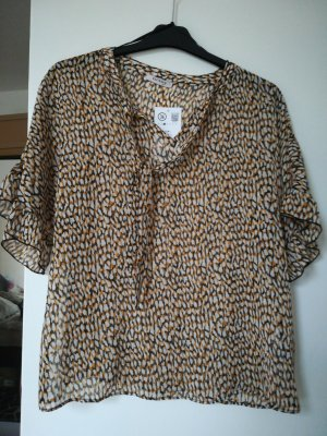 Orsay Ruche blouse veelkleurig Katoen