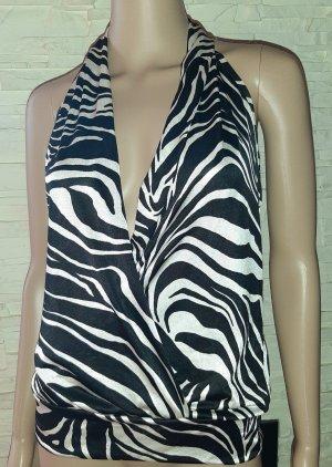 ORSAY Top animalprint Zebra Neckholder