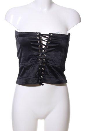 Orsay Gilet bavarois noir style extravagant