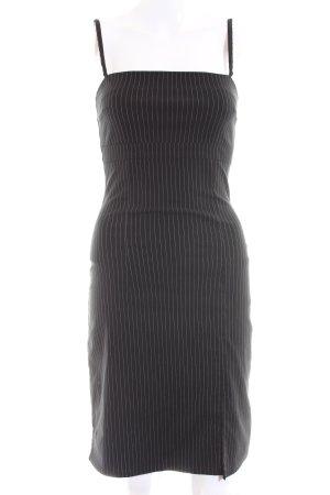 Orsay Trägerkleid schwarz Allover-Druck Business-Look