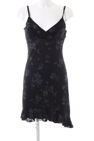 Orsay Overgooier zwart bloemenprint casual uitstraling