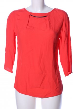 Orsay Transparenz-Bluse rot Casual-Look