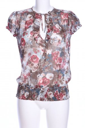 Orsay Transparenz-Bluse Blumenmuster Elegant