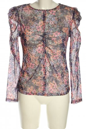 Orsay Langarm-Bluse Blumenmuster Casual-Look