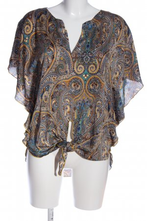 Orsay Transparenz-Bluse Allover-Druck Casual-Look