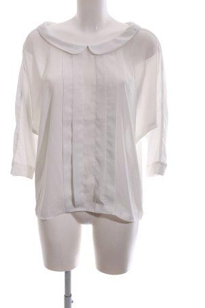 Orsay Transparenz-Bluse weiß Elegant