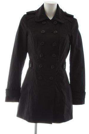 Orsay Trench nero stile casual