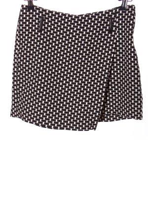 Orsay Tulpenrock schwarz-weiß Allover-Druck Casual-Look