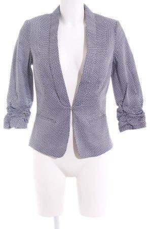 Orsay Tweedblazer blau-weiß
