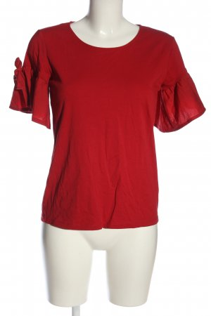 Orsay Boothalsshirt rood casual uitstraling