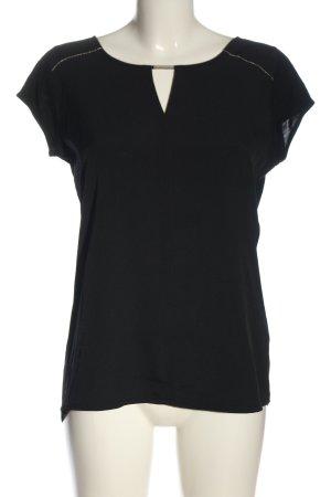 Orsay U-Boot-Shirt schwarz Casual-Look