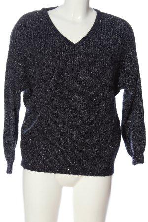 Orsay V-Ausschnitt-Pullover blau Casual-Look