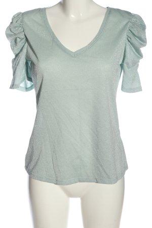 Orsay V-Ausschnitt-Shirt türkis Casual-Look