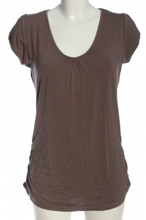 Orsay V-Ausschnitt-Shirt braun Casual-Look