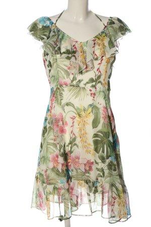 Orsay Flounce Dress flower pattern casual look