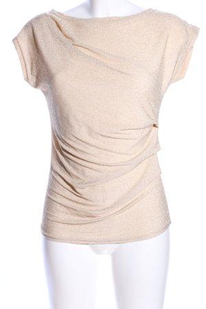 Orsay Camisa con cuello caído crema brillante