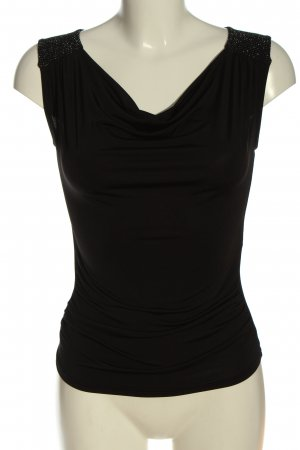 Orsay Watervaltop zwart casual uitstraling