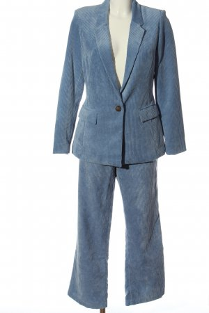 Orsay Woven Twin Set blue business style