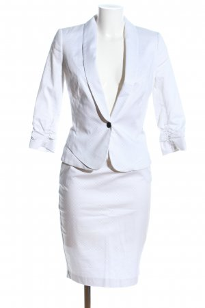 Orsay Web Twin Set weiß Allover-Druck Business-Look